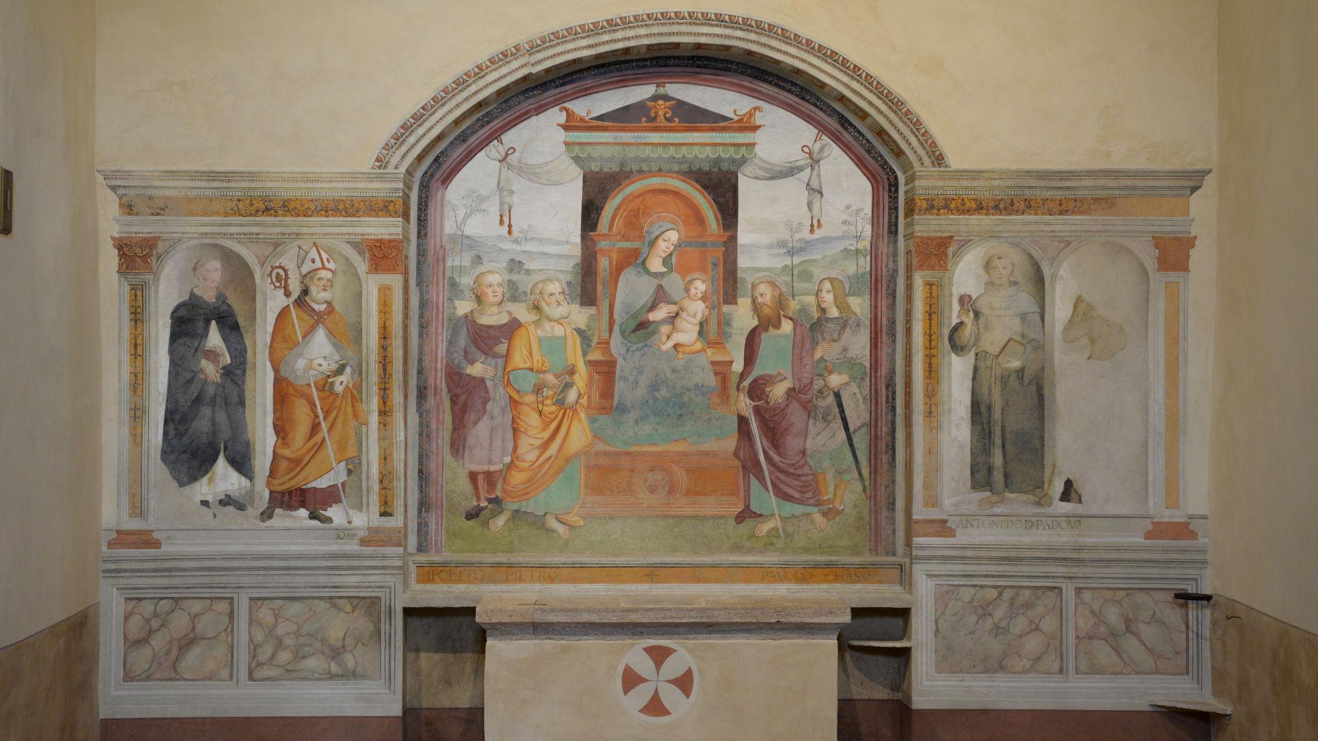 S. Ippolito - Affresco