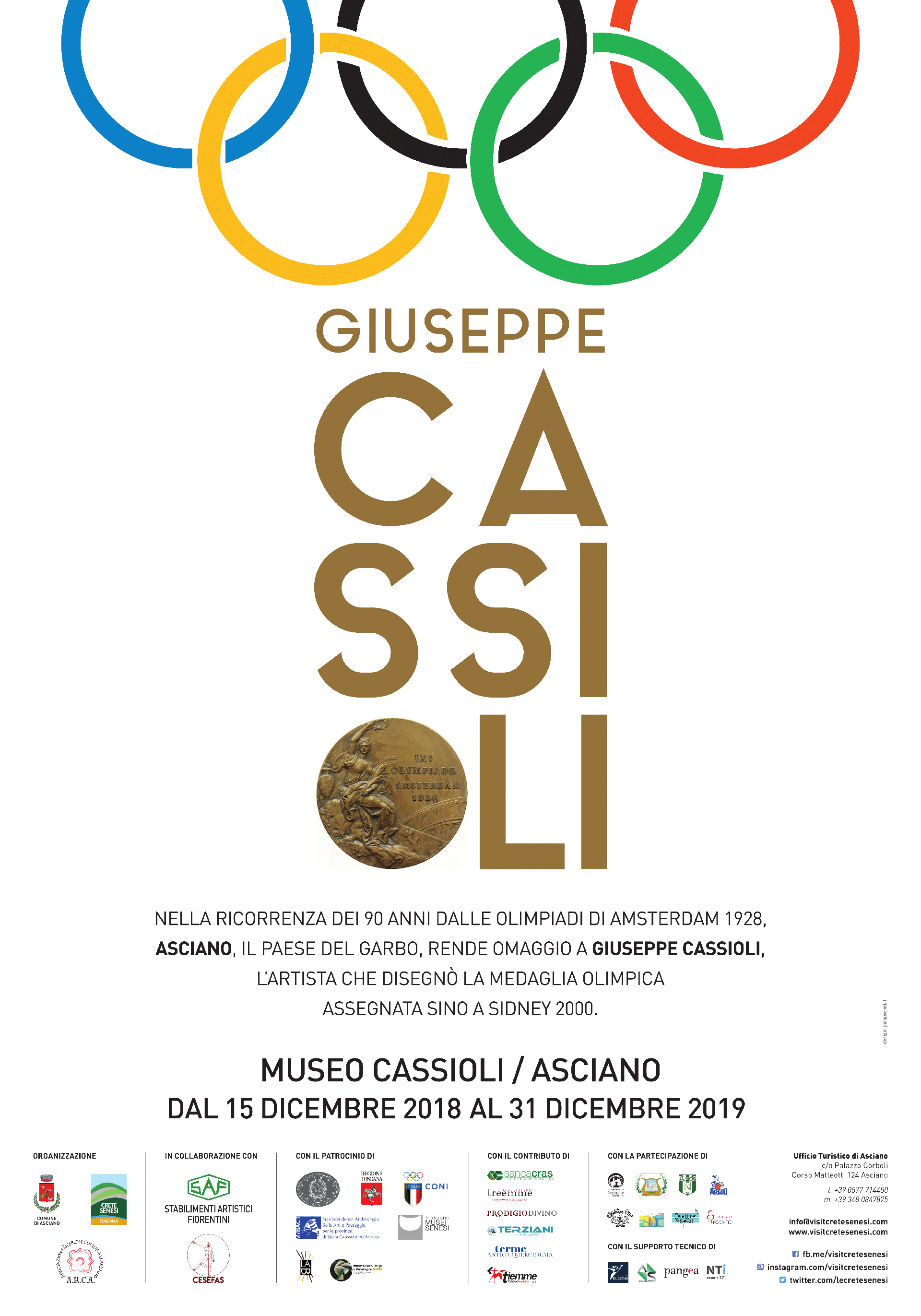 La Medaglia Olimpica di Giuseppe Cassioli tra Arte e Sport