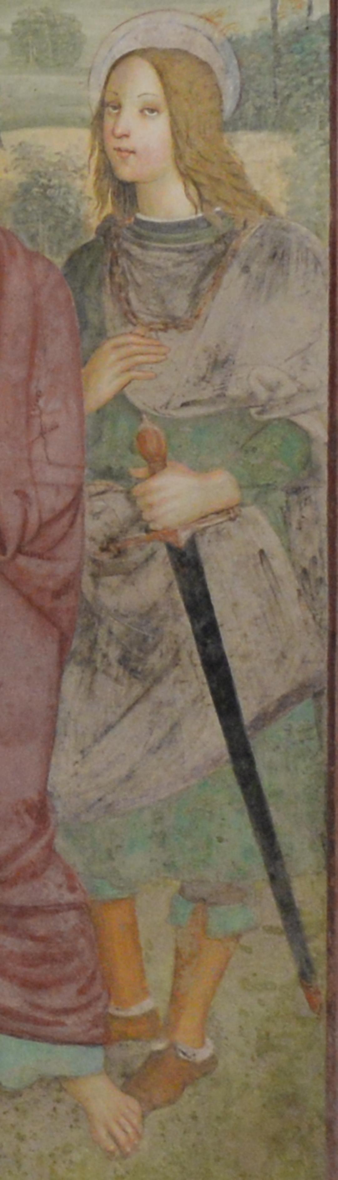 Pieve di S. Ippolito - particolare